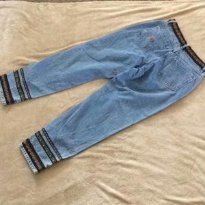 bill blass Pants - Vintage Bill Blass Mom Jeans with Floral Accents